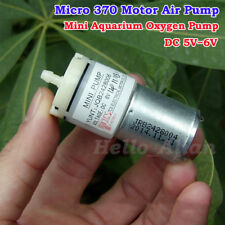 DC 3V 5V 6V Small Mini Mute 370 Motor Air Oxygen Pump F Aquarium Water Fish Tank