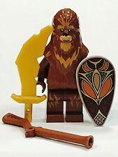 LEGO STAR WARS WOOKIEE WARRIOR WOOKIE 100% LEGO CEREMONIAL SHIELD NEW SET 75084