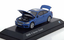 BMW 4ER 3.8I SERIES COUPE F32 2013 BLUE METAL I-SCALE 80422318858 1/43 BLEU