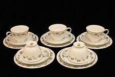Vintage Noritake - 5 Cup, Saucer & Plate Trios - Vineyard 6449 - 1970s - GVC