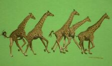 Giraffe T-shirt Youth XS S M L NEW Nature Africa Museum Store MoMA MET Gift
