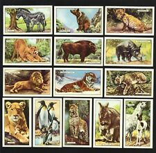 CIGARETTE CARDS. Gallaher Tobacco. WILD ANIMALS. (Complete Set of 48). (1937).