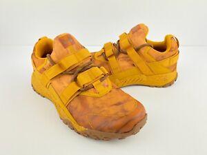 Under Armour UA Valsetz Trek Camo Golden Yellow Mens Size 8.5 NEW 3022621-700