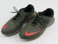 Nike Lunar Control Vapor Golf Shoes Cargo Green Khaki 849971-300 Men's Size 10