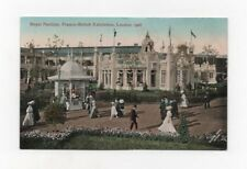 Franco-British Exhibition, London, 1908 - Royal Pavilion - Postcard