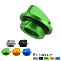 CNC Oil Filler Cap Plug Anodized For Kawasaki ZX-6RR Z750/S ZR-7 GPZ900R ZX-9R