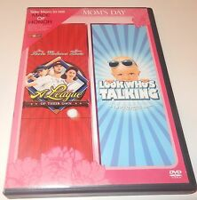 A League of Their Own, Look Who's Talking (DVD, 2-Discs) WS/FS Hanks Alley
