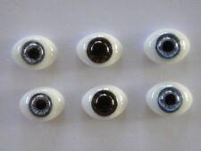 Augen Im Glas Briefbeschwerer 16 MM Für Puppe Antik Oder Modern - Reborning