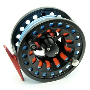 BR Aluminium Metal Fly Fishing Reel Combo Kit Including Pre Fitted Fly Line