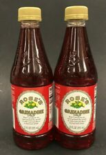 Rose's Grenadine  Syrup Lot Of 2 - 12 oz Free Shipping