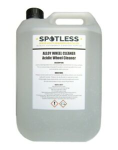 5L Alloy Wheel Cleaner Professional Acidic Strong Strength Car Brake Dust Stains