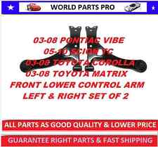 Front Control Arm 03-08 TOYOTA COROLLA(FITS SCION TC 05-10)LEFT&RIGHT SET OF 2