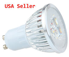 Dimmable LED Tracklight Bright LED GU10 Spotlight Bulb Cool 6W 450L Salt † Light