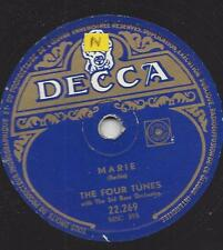 The Four Tunes 1953: Marie + i gambled with Love