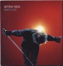 SIMPLY RED - Live - CD  VENDUTO CON CARTA VODAFONE 2003 NEAR MINT CONDITION