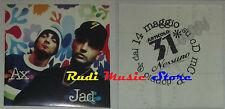 ADESIVO STICKER ARTICOLO 31 ufficiale AX JAD 9X9 CM cd dvd lp mc vhs promo live