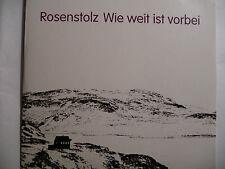 "Rosenstolz  Wie weit ist vorbei   5"" Promo Maxi-CD   5 Tracks   2009  ultra rar!"