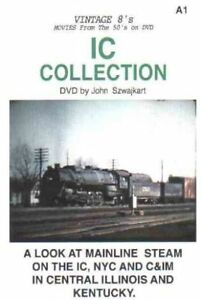 ILLINOIS CENTRAL COLLECTION JOHN SZWAJKART DVD-R