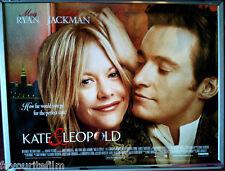 Cinema Poster: KATE & LEOPOLD 2002 (Quad) Meg Ryan Hugh Jackman Liev Schreiber