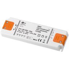 LED Trafo Transformator Treiber 12v/20w  extra Flach überspannungsschutz