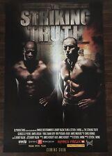 The Striking Truth Poster, Georges St-Pierre, David Loiseau, UFC, Firas Zahabi