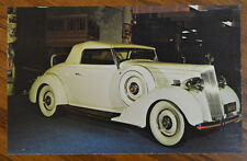 VINTAGE 1936 PACKARD CONVERTIBLE RPC HOLLYWOOD MOTORAMA MUSEUM CLASSIC CAR AUTO