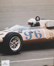 BILLY FOSTER INDY 500 DRIVER 1965 TRENTON 100 Eisert Chevy 7TH PLACE PHOTO 2
