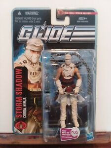 NEW GI Joe Storm Shadow Cobra Ninja Desert Figure 1004 Pursuit Of Cobra MOC