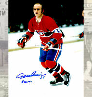 Jacques Lemaire Montreal Canadiens Autographed 8X10