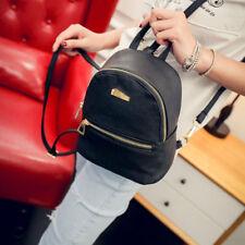 Women Girls Mini Backpack Faux Leather Rucksack School Bag Travel Handbag Lot