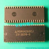 M5M44260CJ7 MITSUBISHI DRAM SMT 40-SOJ Package Pulls Lot Of 3