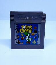 Yoshi Cookie Gameboy Nintendo Video Game
