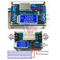 5A DC Digital LCD Buck Boost Converter CC CV Step-Up/Down Power Module w/ Shell