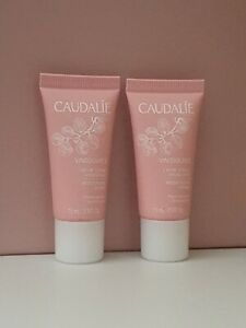 2 x Caudalie Vinosource Moisturising Sorbet Travel size 15ml  new