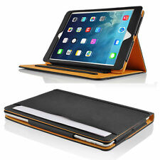 Black Tan - Leather Case - for iPad Air 2 - Smart Cover
