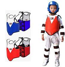 3XSPORTS Kids  Chest Guards Taekwondo Body Protectors MMA Rib Shields Armour