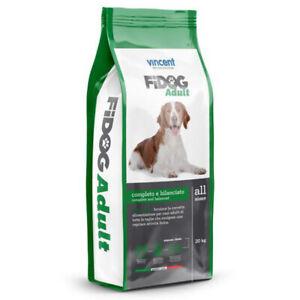 Fidog Crocchette per cani adulti 20KG Alimento completo