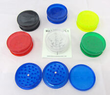 Grassleaf Acrylic Grinder Wholesale Lot Magnetic 60mm 3 Part Full Tray 12pcs