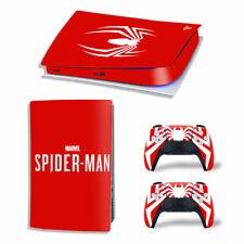 PS5 Digital Edition Skin Decal Sticker - Spiderman Design 8 - FREE P&P