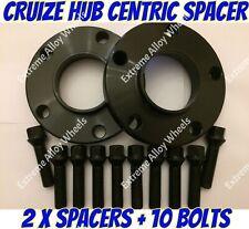 Alloy Wheel Spacers 25mm x 2 Skoda Karoq Octavia Superb Black Cruize 5x112 57.1