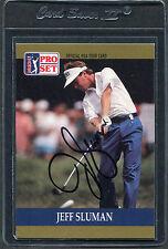 1990 Pro Set Golf Jeff Sluman #45 Signed Autograph