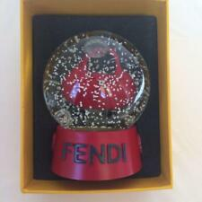 FENDI × MONCLER Collaboration Spy Bag Snow Globe with Box Promo Giveaway