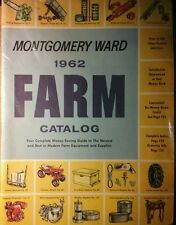 Montgomery Ward 1962 Farm Catalog FULL COLOR Garden Tractor 180pg Tool Tiller