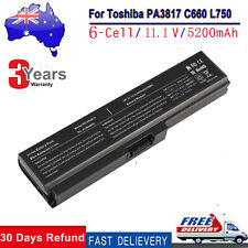Laptop Battery for Toshiba Satellite C660 C665 L750 L750D PA3817U-1BRS PABAS228