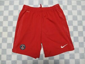 Short PARIS SAINT-GERMAIN PSG rouge NIKE slip intérieur football L