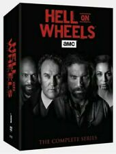 Hell on Wheels: The Complete Series DVD, 2016, (17-Disc Set) !