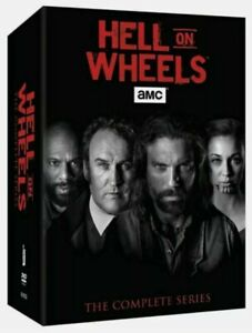 Hell on Wheels: The Complete Series (DVD, 2016, 17-Disc Set)