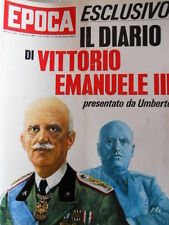 EPOCA n°903 1968 Diario di Vittorio Emanuele III - Marcello Mastroianni [C80]