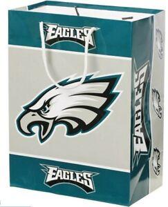 Philadelphia Eagles NFL Football Holiday Gift Bag Medium Sports
