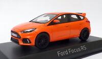 Norev 1/43 Scale Model Car 270566 - 2014 Ford Focus RS - Metallic Orange
